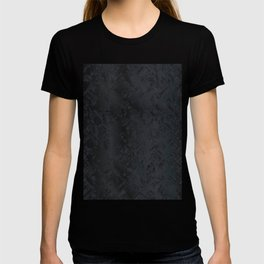 Blac And Tan Abstract Metal Background T-shirt