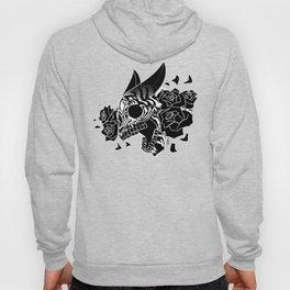 Skull 'n' Roses (NightmareNetty-Black&White) Hoody