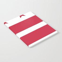 Washington D.C.: Washington D.C. Flag Notebook