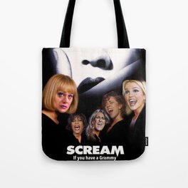 SCREAM if you have a Grammy Tote Bag