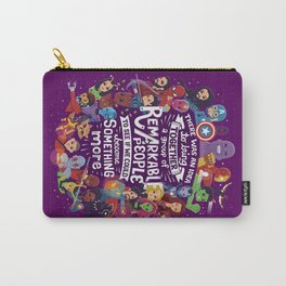 Remarkable People Carry-All Pouch