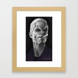 School Hard Framed Art Print