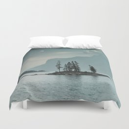 Obscured Thoughts Duvet Cover