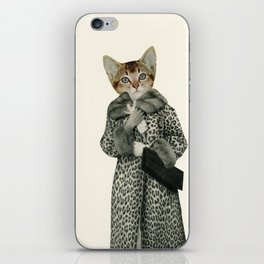 Kitten Dressed as Cat iPhone Skin