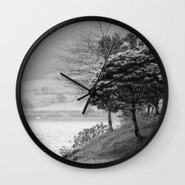 Lake landscape Wall Clock