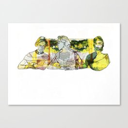 Street View Graphic Canvas Print