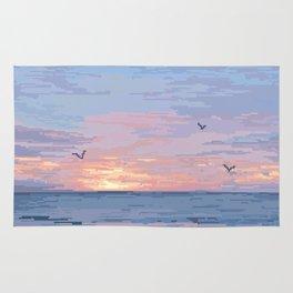 Seagull Sunrise Rug