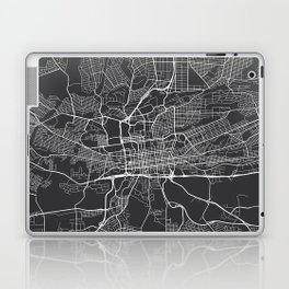 Johannesburg Map, South Africa - Gray Laptop & iPad Skin