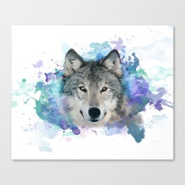 She Wolf Canvas Print