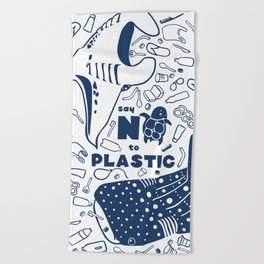 Say NO to Plastic Beach Towel