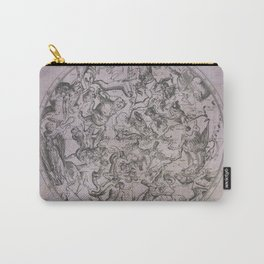 Vintage Constellations & Astrological Signs | Beetroot Paper Carry-All Pouch