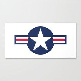 US Air force insignia HD image Canvas Print