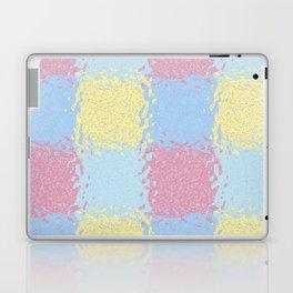 Pastel Jiggly Tile Pattern Laptop & iPad Skin