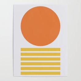 Geometric Form No.5 Poster