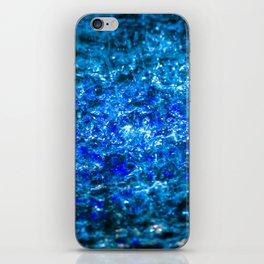 Water Color - Dark Blue - Navy iPhone Skin
