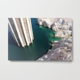 Hoover Dam - Lake Mead Metal Print