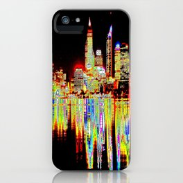 Abstract Skyline iPhone Case