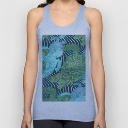 sea turtles Unisex Tank Top