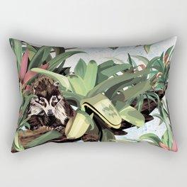 Ring tailed Coati Rectangular Pillow