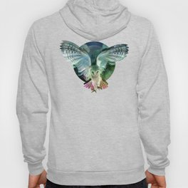 """Owl flight and spring night"" Hoody"