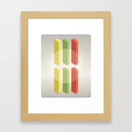 Candycounting Framed Art Print