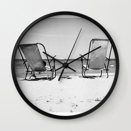 Beach Life - Gone Swimming Wall Clock