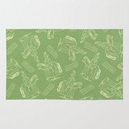 Hobby Horse (Green) Rug