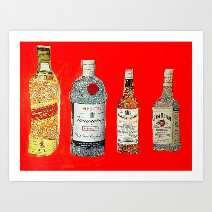Glam Bar Art Print