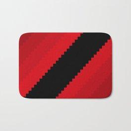 Pixel Bloody Dreams - Red Bath Mat