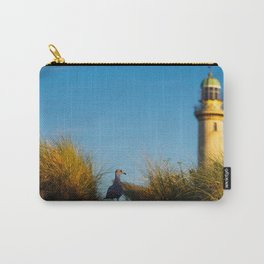 Old lighthouse from Hanseatic city of Rostock Carry-All Pouch