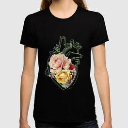 Heart in bloom T-shirt
