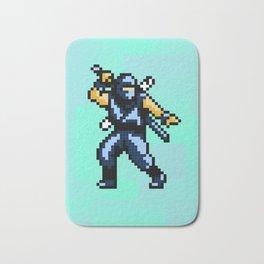 8bit Ninja Bath Mat