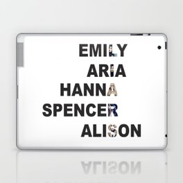 Pretty Little Liars - Girls Name Acrostic Laptop & iPad Skin