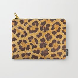 Its a leopard pattern Carry-All Pouch