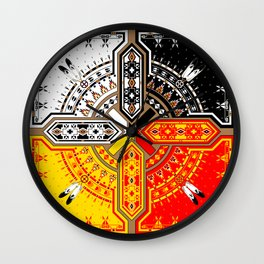 The Four Directions Wall Clock