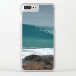 Breaking Wave Clear iPhone Case