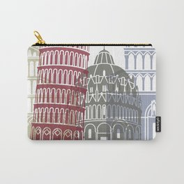 Pisa skyline poster Carry-All Pouch