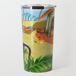 Costa Del Sol Surfing Suntan Travel Mug