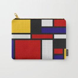 Mondrian De Stijl Art Movement Carry-All Pouch