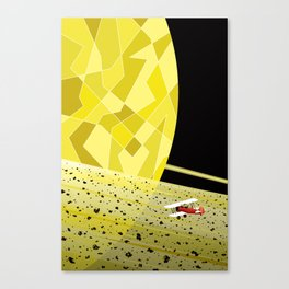Lost In Time and Space Canvas Print