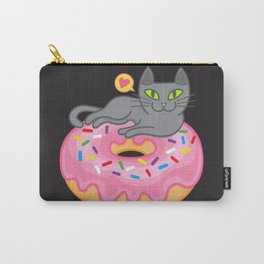 My cat loves donuts 2 Carry-All Pouch