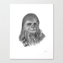 Wookiee Chewbacca Canvas Print