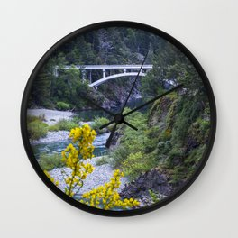 Rouge River Bridge Wall Clock
