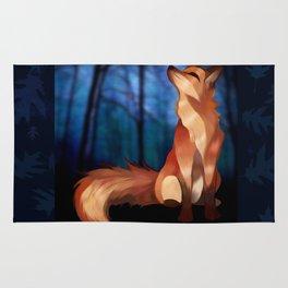 Wild At Heart Fox Rug