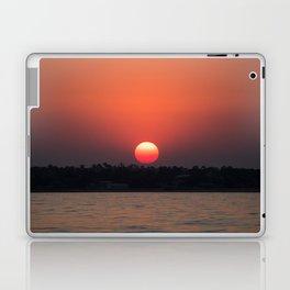 Really red sun Laptop & iPad Skin