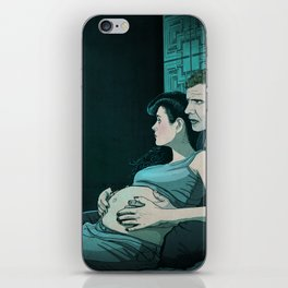 The Unicorn - Pregnant Rachel Blade Runner iPhone Skin