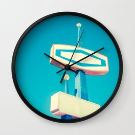 Faded Signs Retro Vintage Sign Wall Clock