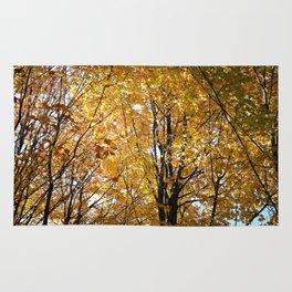 Golden Leaves Rug