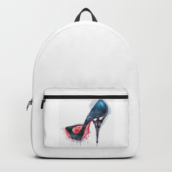Eiffel Tower Shoe Backpack