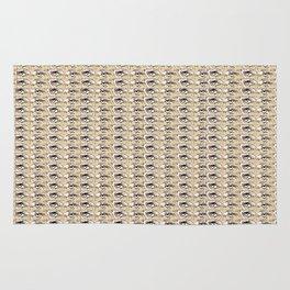 Steve Buscemi's Eyes Tiled Pattern Comic Rug